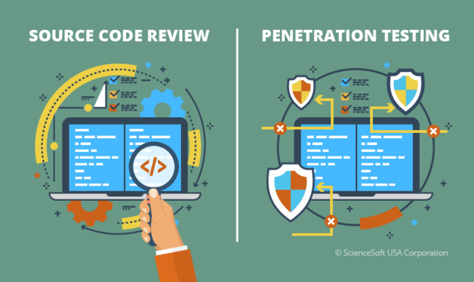 Main web application security code review vs penetration testing 01